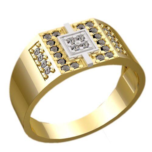 Мужские перстни и печатки на заказ из золота и серебра